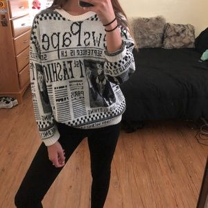 vtg fashion sweater